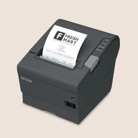 Epson TM-T88V Thermal POS Barcode Printer image