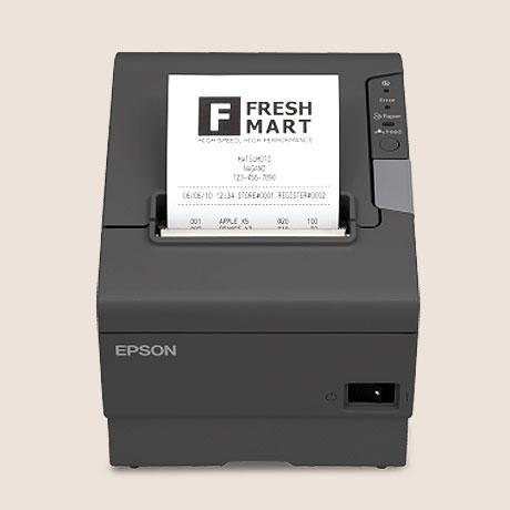 Epson TM-T88V Thermal POS Barcode Printer image 3